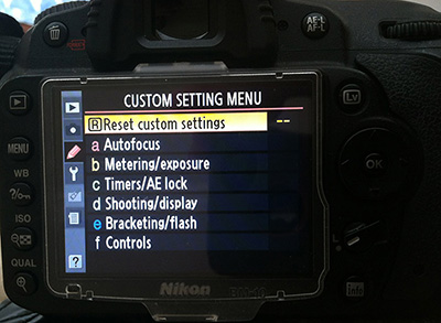 Nikon current design