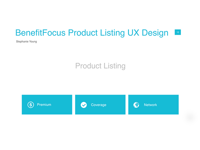 Product Listing Presentation