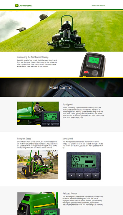 TechControl site final design