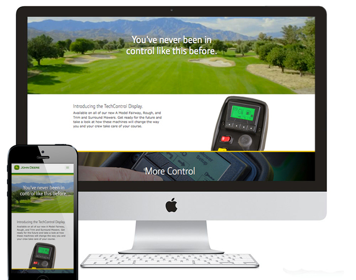 John Deere Golf TechControl